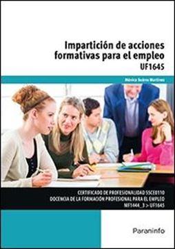 Impartición de acciones formativas para el empleo