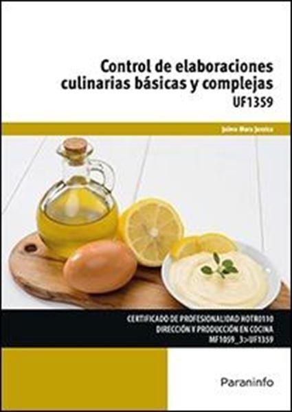 UF1359: Control de elaboraciones culinarias básicas y complejas