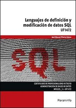 UF1472: Lenguajes de definición y modificación de datos SQL
