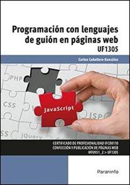 Programación con lenguajes de guión en páginas web