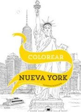 """Colorear Nueva York """"20 escenas para colorear a mano"""""""