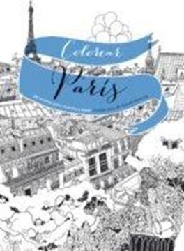 """Colorear París """"20 escenas para colorear a mano"""""""