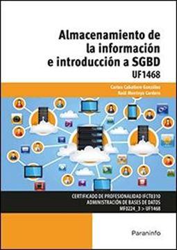 Almacenamiento de la información e introducción a SGBD