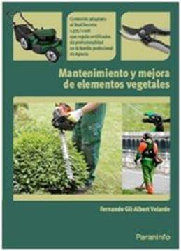 Mantenimiento y Mejora de Elementos Vegetables