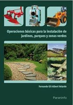 Operaciones Básicas para Instalación de Jardines, Parques y Zonas Verdes