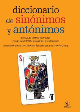 """Diccionario de Sinónimos y Antónimos """"Cerca de 30000 Entradas y mas de 200000 Sinonimos y Antonimos"""""""