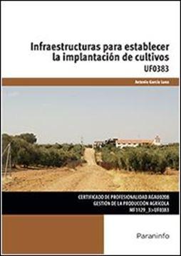 """Infraestructuras para establecer la implantación de cultivos """"UF0383. Certificado de profesionalidad GEstión de la producción agrícola"""""""