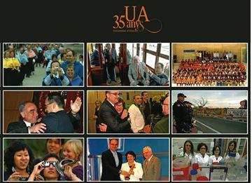 "Memoria gráfica. 35 años UA ""Universitat d'Alacant"""