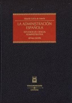 """Administración española, La """"Estudios de ciencia administrativa"""""""