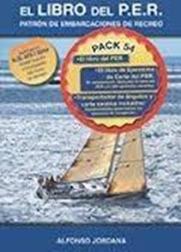 "Pack Jordana ""Libro de ejercicios Carta del P.E.R. +Libro del P.E.R.+Transportador de ángulos+Carta náutica"""