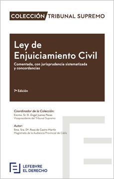Imagen de Ley de Enjuiciamiento Civil, 1ª 2018  Comentada, con jurisprudencia sistematizada y concordancias