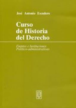 Imagen de Curso de Historia del Derecho