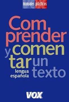 """Comprender y Comentar un Texto """"Lengua Española"""""""