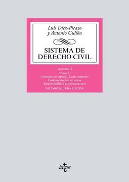 """Sistema de Derecho Civil 12ª ed, 2018 """"Volumen II (Tomo 2) Contratos en especial. Cuasi contratos. Enriquecimiento sin causa. Responsabilidad """""""