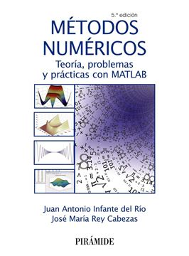 """Métodos numéricos 5ª ed, 2018 """"Teoría, problemas y prácticas con MATLAB"""""""