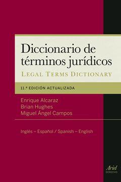 """Diccionario de Términos Jurídicos """"Inglés-Español/ Spanish-English"""""""