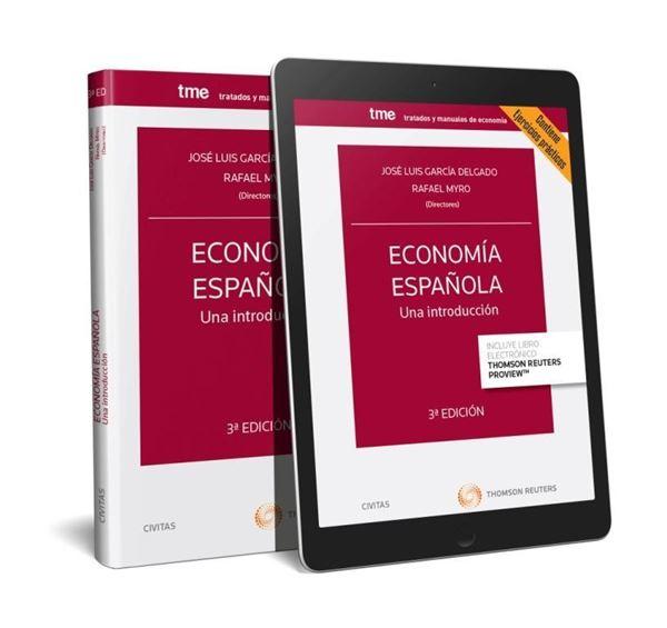 Economía española. Una introducción (Papel + e-book) 3ª ed, 2018