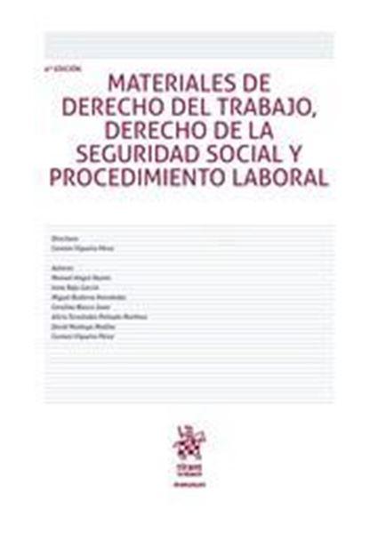 Imagen de Materiales de Derecho del Trabajo Derecho de la Seguridad Social y Procedimiento Laboral 4ª ed, 2018