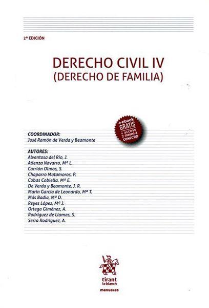 "Imagen de Derecho Civil IV, 2ª ed. 2016 ""Derecho de familia"""