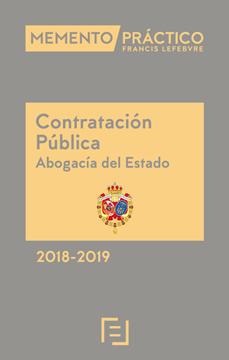 Imagen de Memento Contratación Pública (Abogacía del Estado) 2018-2019