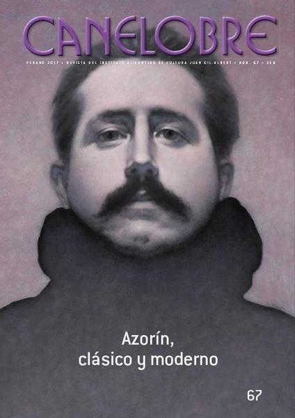 Imagen de Canelobre núm. 67 Azorín, clásico y moderno
