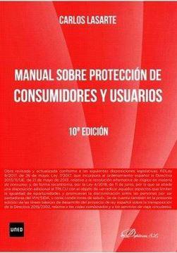 Manual sobre proteccion de consumidores y usuarios 10ª ed, 2018