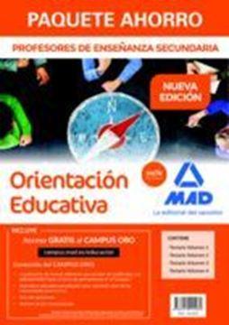 """Imagen de Paquete Ahorro Cuerpo de Profesores de Enseñanza Secundaria Orientación Educativa """"4 Volumenes de temario"""""""