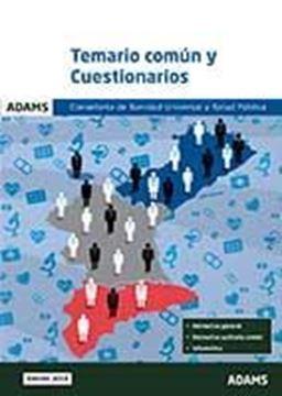 Imagen de Temario común y cuestionarios Conselleria de Sanidad Universal y Salud Pública
