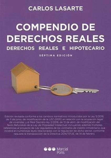 """Imagen de Compendio de Derechos Reales 7ª ed, 2018 """"Derechos Reales e Hipotecario"""""""
