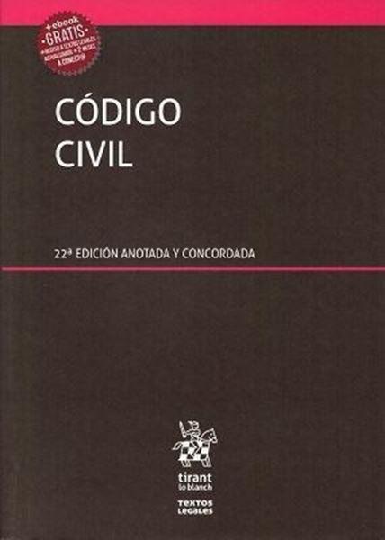 Imagen de Código civil 22ª ed, 2018