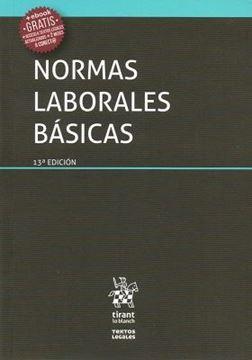 Imagen de Normas laborales 13ª ed, 2018