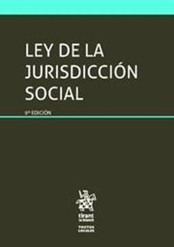 Imagen de Ley de la Jurisdicción Social 9ª ed, 2018
