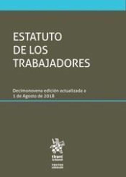 Imagen de Estatuto de los Trabajadores 19 ª ed, 2018