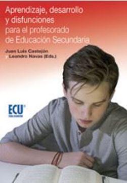 Imagen de Aprendizaje, Desarrollo y disfunciones para el profesorado de Educación Secundaria