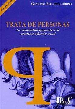 """Imagen de Trata de personas """"La criminalidad organizada en la explotación laboral y sexual"""""""