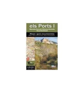 """Imagen de Els Ports I: mapa i guia excursionista """"Morella-Forcall-Villores-Hortells-Xiva-Herbeset"""""""