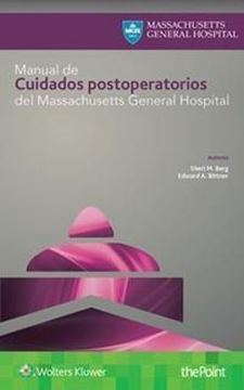 Imagen de Manual de Cuidados Postoperatorios del Massachusetts General Hospital