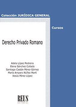 Derecho Privado Romano, 2018
