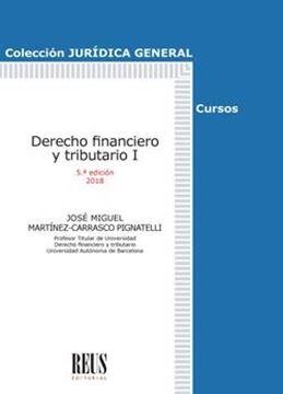 Derecho Financiero y Tributario I 5ª ed, 2018