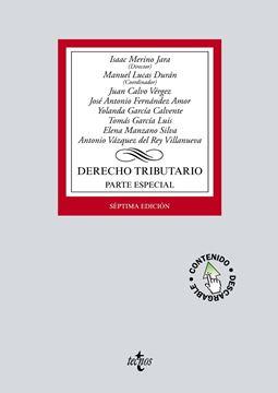 Derecho tributario. Parte Especial 7ª ed, 2018