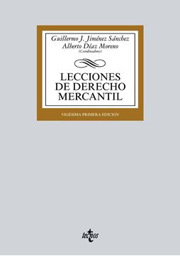 Lecciones de Derecho Mercantil 21ª ed, 2018