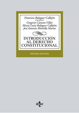 Introducción al Derecho Constitucional 7ª ed, 2018
