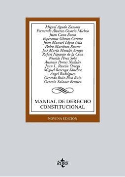 Manual de Derecho Constitucional 9ª ed, 2018