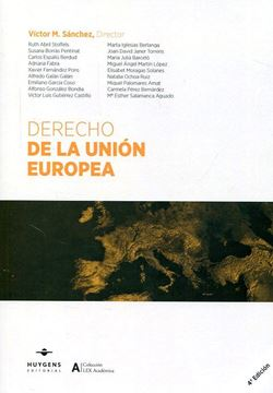 Imagen de Derecho de la Unión Europea 4ª ed. 2017
