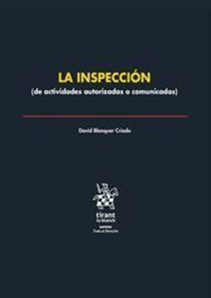 "Imagen de Inspección, La, 2018 ""(de actividades autorizadas o comunicadas)"""