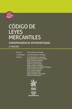 """Imagen de Código de Leyes Mercantiles 2ª ed, 2018 """"Jurisprudencia sistematizada"""""""