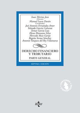 """Derecho financiero y tributario 7ª ed, 2018 """"Parte general."""""""
