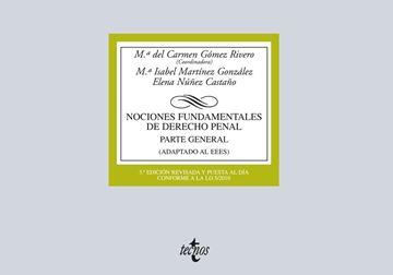 """Nociones Fundamentales de Derecho Penal 3ª ed, 2015 """"Parte General (Adaptado al EEES)"""""""