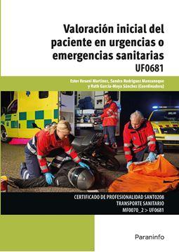 Valoración inicial del paciente en urgencias o emergencias sanitarias, 2018