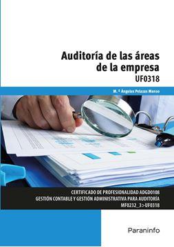 Auditoría de las áreas de la empresa UF0318, 2018